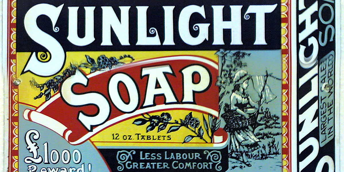 Empaque de Sunlight Soap